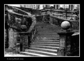 Staircase - Fontainebleu by inessentialstuff