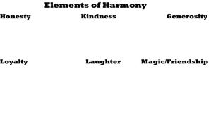 Elements of Harmony Meme template by Popculture-Patron