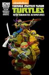 IDW's TMNT Animated 18 Subscription Cover by theCHAMBA
