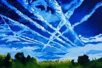Happy Chemtrails. by Art-Plus