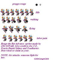 Preggo rouge sprites by GirlsGangsGirls