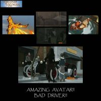 Korra needs driving lessons... by alement