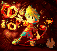 Lucas- Mother 3 by Andgofortheroll-123