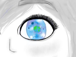 The univers in your eyes by Nerdy-cookie