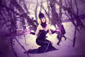 Dark Snow Queen by LilifIlane
