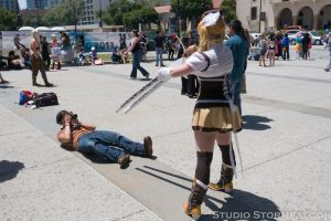 Mami's Way of Dealing with Cosplay Photographers by Stormfalcon