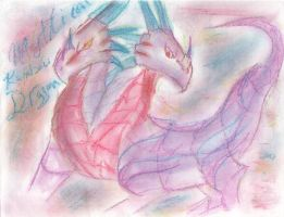dragon of the rainbow by RiaStrifeChan