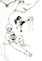Hinata and Narto with son by LadyProphet
