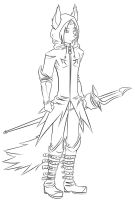 LineArt for a RP Game by EtriuzJT
