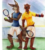 Furry Tennis by Mangusu