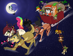 Happy Christmas 2012 and Happy New Year too ! by Niutellat