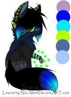 Blind Scene Fox Adoptable ~ 25 [CLOSED] by BiahAdopts