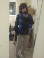 Goin as Karkat with eridans scarf to holidayStuck by Silhouett3s