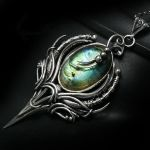 ESSTERXENTH Silver and Labradorite by LUNARIEEN