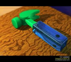 Toy Hammer B by aMorle
