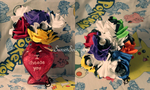 Valentine's Pokeball Bouquet with Vase by SunsetSovereign