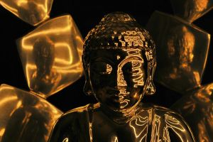 Buddha Fire by ReachingForOranges