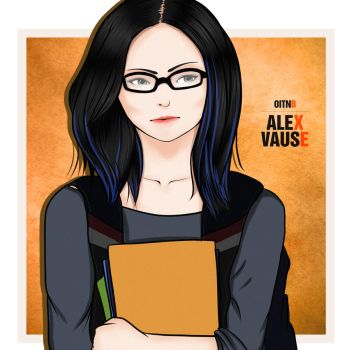OITNB: Young Alex Vause by gonzanne