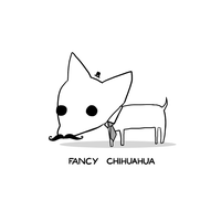 Fancy Chihuahua by arseniic