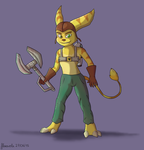 Ratchet and Clank by floravola