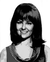 Shelley Fabares - Vectored 1 by musicgal3