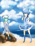 The Sky and the Sea by twiichii