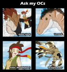 Ask my OCs meme by AltairSky