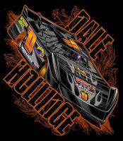 Late Model Racer Tee 02172012 by Bmart333