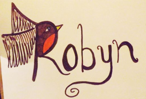 Robyn Tattoo Design by Zeldads