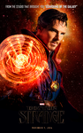 Doctor Strange Movie Poster by Jo7a