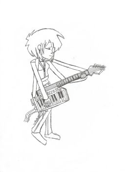 Destiny and keytar 2 by gogorillazgone