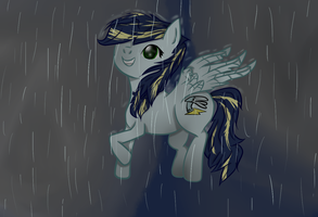 .:Commission:. Raindrops by Team-Butch