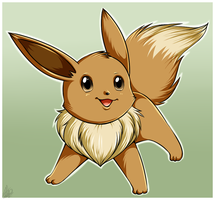 Eevee by Sweetochii