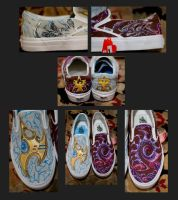 Starcraft II Custom Shoes by Erobern
