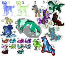 LEFTOVER ADOPTS! NAME YOUR PRICE! - OPEN by TechyAdopts