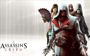 Assassins creed wallpaper by ilikepie-123