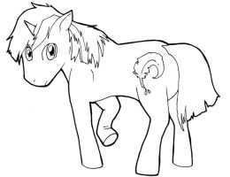 mlp commision lines by GrayWolfShadow