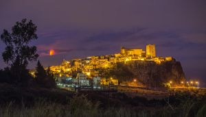 Etna and Motta castle by 7whitefire7