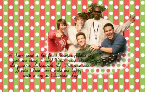 Wallpaper Big Time Rush Christmas by SuperstarElevate
