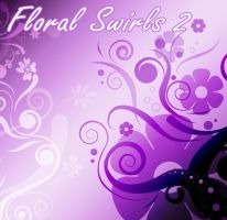 Floral swirls 2 by SugarBreezy