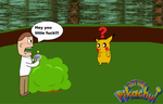 AVGN Hey you Pikachu by pikachuandpichu106
