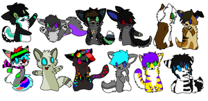 them chibis c: by PipPlutt