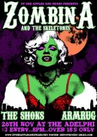 Zombina and the Skeletones by DirtyProtest