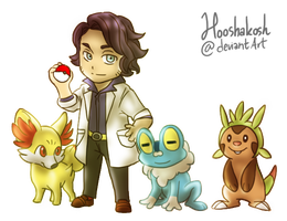 Sycamore and The Trio Kalos Starters by Ouivon