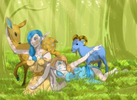 Zodiac in Springtime by Tprinces