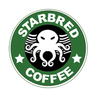 Cthulhu Coffee Brand by ZeroHourNineAM