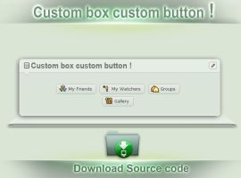 Custom box custom button ! by SK-DIGIART