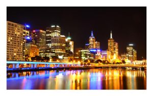Melbourne City Nights by Cameron-Jung
