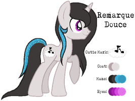 MLP:Remarque Douce Profile by kiananuva12