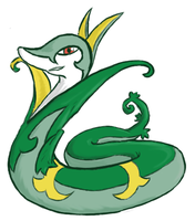 Request: Serperior by xIce-Wolf